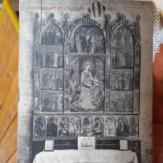 Postales: SANT CUGAT DEL VALLES, MONASTIR, ED. THOMAS BARCELONA, 1930, SIN CIRCULAR. Lote 93858055