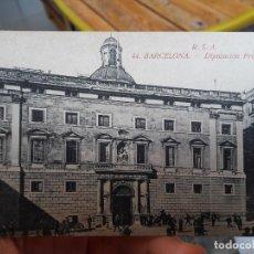 Postales: BARCELONA, DIPUTACION PROVINCIAL, ED. R.S.A. Nº44, ROVIRA, S.A. 1930, RARISIMA. Lote 93859890