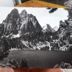 Postales: VALLE DE SPOT, LERIDA, LAGO DE SAN MAURICIO, ED. OFICINA DE TURISMO POBLA DE SEGURA, 1940. Lote 93860080