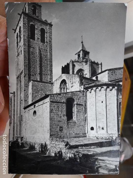 SANT CUGAT DEL VALLES, REAL MONASTERIO, CAMPANARIO Y CIMBORRIO, ED. A. CAMPAÑA, 1940 SERIE 1, Nº305 (Postales - España - Sin Clasificar Moderna (desde 1.940))