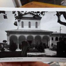 Postales: SAN ANTONIO DE VILLAMAJOR, IGLESIA, ED. L. ROISIN, 1940, ESCRITA. Lote 93860575
