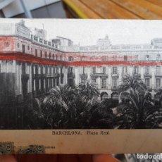 Postales: BARCELONA, PLAZA REAL, UNION POSTAL UNIVERSAL, 1920, ESCRITA. . Lote 93863545