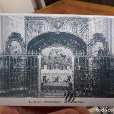 Postales: LA GLEVA, LA SANTA COVA, ED. UNION POSTAL, IMPRENTA LA HORMIGA DE ORO, 1900. Lote 93867130