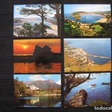 Postales: LOTE 6 POSTALES VARIADAS.. Lote 93873095