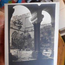 Postales: MONASTERIO SANTES CREUS, EX-REAL, UNION POSTAL, 1930, SIN CIRCULAR. Lote 93893990