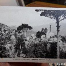 Postales: SANTA COLOMA DE FARNERS, PINS DE MATAGALLS, ED. L. ROISIN, 1950. Lote 93894150