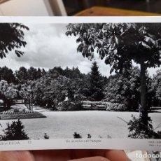 Postales: PUIGCERDA, UN DETALLE DEL PARQUE, EDIT. DOMENECH, Nº12, 1930. Lote 93894175