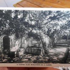 Postales: LA GARRIGA, (CLIMA SECO) FUENTE DE LA ALEGRIA, ED. RIEUSSET, 1940. Lote 93895155