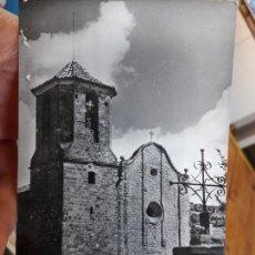 Postales: EL BRULL, MONTSENY, FACHADA IGLESIA, ED. SUBIRA, 1940. Lote 93895295