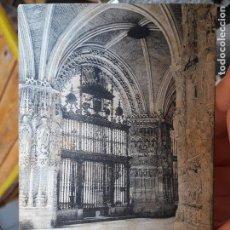 Postales: CATEDRAL DE BURGOS, ED. SCHAAR&DATHE TRIER, 1900. Lote 93941935