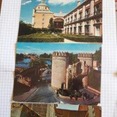 Postales: LOTE 3 POSTALES ARANJUEZ, BADAJOZ, TOLEDO . Lote 94379766