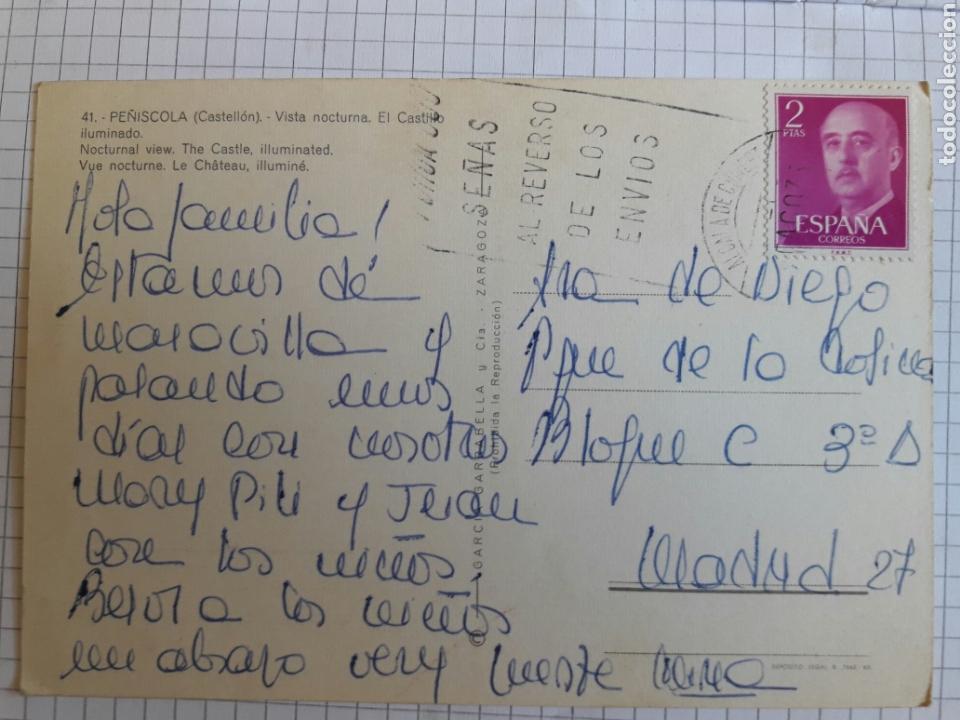 Postales: Postal circulada Peñíscola años 70 - Foto 2 - 94382682