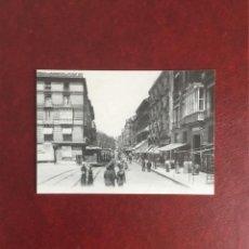 Postales: POSTAL CALLE COSO, TRANVÍA. ZARAGOZA, PRINCIPIOS SIGLO. Lote 95082403