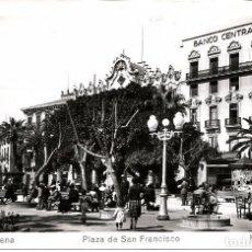 Postales: POSTAL DE CARTAGENA. PLAZA DE SAN FRANCISCO. EDICIONES ARRIBAS Nº 65. Lote 95568379