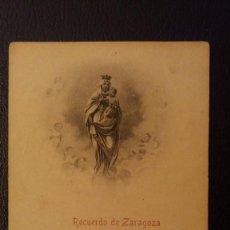 Postales: POSTAL RECUERDO DE ZARAGOZA. Lote 95846127