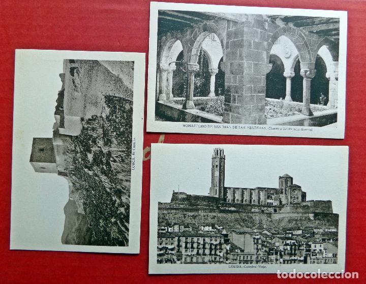 Postales: carpeta con 14 postales de Transición del Románico al Gótico. - Foto 3 - 96442535