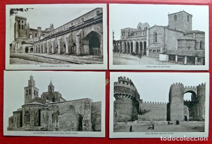 Postales: carpeta con 14 postales de Transición del Románico al Gótico. - Foto 4 - 96442535
