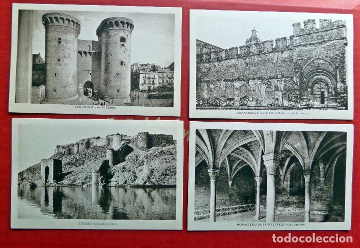 Postales: carpeta con 14 postales de Transición del Románico al Gótico. - Foto 5 - 96442535