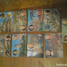 Postales: LOTE 9 POSTALES JUAN PABLO II. Lote 96931271
