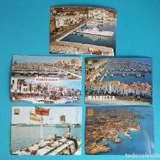 Postales: 5 POSTALES DE LA GEOGRAFIA DE ESPAÑA DE COLECCIÓN. Lote 98854871
