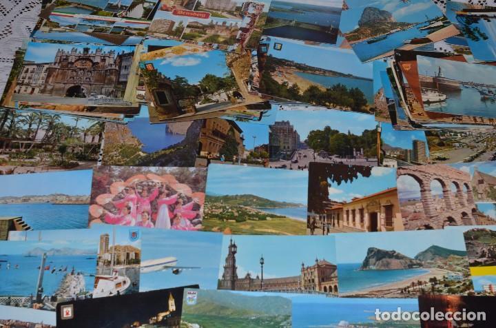 Postales: GIGANTESCO LOTE DE 400 POSTALES, LA MAYORÍA ESPAÑOLAS DE LOS AÑOS 60-70 - Foto 2 - 99734979