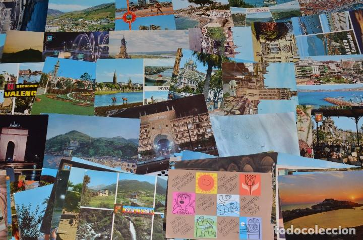 Postales: GIGANTESCO LOTE DE 400 POSTALES, LA MAYORÍA ESPAÑOLAS DE LOS AÑOS 60-70 - Foto 3 - 99734979