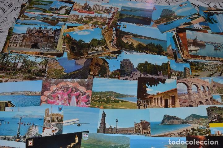 Postales: GIGANTESCO LOTE DE 400 POSTALES, LA MAYORÍA ESPAÑOLAS DE LOS AÑOS 60-70 - Foto 4 - 99734979