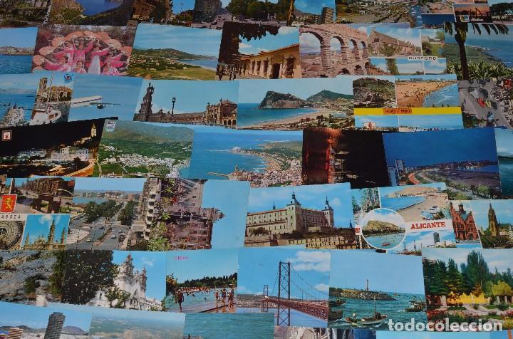 Postales: GIGANTESCO LOTE DE 400 POSTALES, LA MAYORÍA ESPAÑOLAS DE LOS AÑOS 60-70 - Foto 7 - 99734979