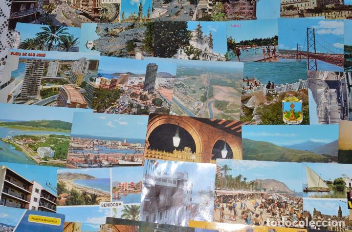 Postales: GIGANTESCO LOTE DE 400 POSTALES, LA MAYORÍA ESPAÑOLAS DE LOS AÑOS 60-70 - Foto 8 - 99734979
