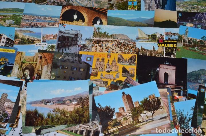 Postales: GIGANTESCO LOTE DE 400 POSTALES, LA MAYORÍA ESPAÑOLAS DE LOS AÑOS 60-70 - Foto 9 - 99734979