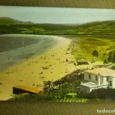 Postales: POSTAL - ESPAÑA - GALICIA - MIÑO - 72.- PLAYA GRANDE - ED. LIBERTA - ESCRITA 1964 -. Lote 100785635