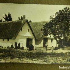 Postales: POSTAL - ESPAÑA - VALENCIA 42.- BARRACAS - POSTALES Y ESTAMPAS DURÁ - ESCRITA EN 1960. Lote 100790755