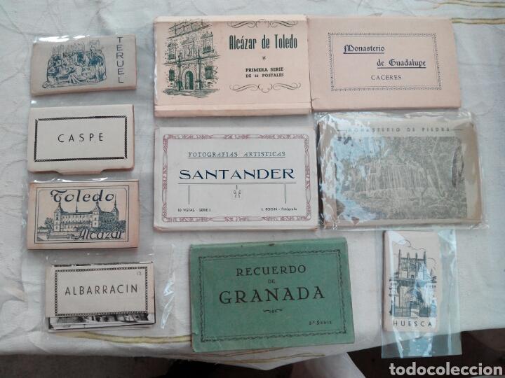 SANTANDER ESPAÑA POSTALES LIBRITOS COMPLETOS DE VARIAS CIUDADES - VER CONDICIONES. (Postales - España - Sin Clasificar Moderna (desde 1.940))