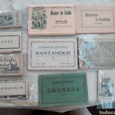 Postales: SANTANDER ESPAÑA POSTALES LIBRITOS COMPLETOS DE VARIAS CIUDADES - VER CONDICIONES.. Lote 101514579