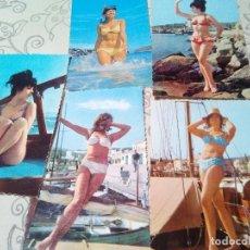 Postales: LOTE 5 POSTALES CHICAS AÑOS 60/70. Lote 103784875