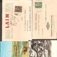 Postales: LOTE 7 POSTALES Y COMERCIALES.. Lote 104777607