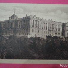 Postales: POSTAL BLANCO Y NEGRO DE:PALACIO REAL,MADRID,(SIN CIRCULAR). Lote 105876159