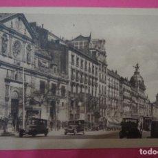 Postales: POSTAL BLANCO Y NEGRO DE:CALLE ALCALÁ,MADRID,(SIN CIRCULAR). Lote 105877527