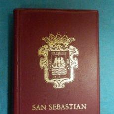 Postales: LIBRILLO - ALBUM - 24 VISTAS - MINI POSTALES - SAN SEBASTIAN - MANIPEL - 10,5 X 6,5 CM.. Lote 106060303