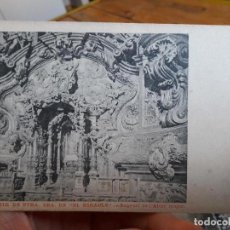 Postales: MONESTIR DE NTRA. SRA. DEL MIRACLE, ED. ALTAR MAJOR. UNION POSTAL UNIVERSAL, 1920. Lote 93877675