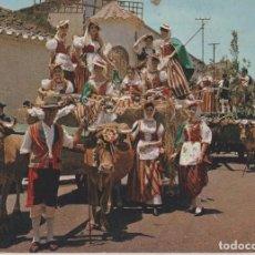 Postales: POSTALES POSTAL TENERIFE ROMERIA CANARIAS AÑOS 60 ESCRITA EDITA DIXON. Lote 107827151