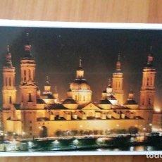 Postales: TIRA DE 20 POSTALES PEQUEÑAS DE ZARAGOZA. Lote 107915427