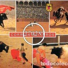 Postales: Nº 39 CORRIDA DE TOROS (VARIAS VISTAS) - ESCUDO DE ORO - SIN CIRCULAR - AÑO 1984. Lote 108808575