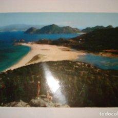 Postales: TARJETA POSTAL DE VIGO CIRCULADA CON SELLO DE ARRIBAS 30.928. Lote 118225595