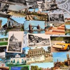 Postales: GRAN COLECCIÓN DE 120 POSTALES DE ESPAÑA Y DEL MUNDO, MUCHAS EN BLANCO Y NEGRO. Lote 113415439