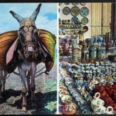 Postales: 1657 - ESPAÑA TIPICA - BURRITO. ESCENA TIPICA. Lote 114984847