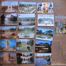 Postales: 16 POSTALES DE MADRID. ESCRITAS AL DORSO, SIN ENVIAR. 7 DE ELLAS DE FOTÓGRAFO DOMÍNGUEZ. Lote 115588179