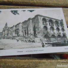 Postales: TARJETA POSTAL CORDOBA LA CATEDRAL DESDE EL TRIUNFO SIN CIRCULAR. Lote 118163399