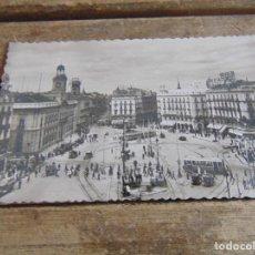 Postales: TARJETA POSTAL MADRID PUERTA DEL SOL SIN CIRCULAR. Lote 118165855