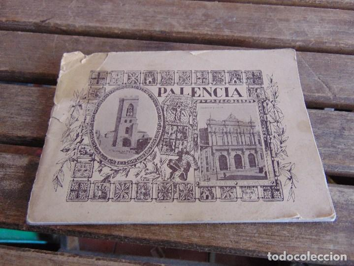 LIBRETO PALENCIA LA DIPUTACION INVITA VISITAR MONUMENTOS Y TESOROS ARTISTICOS 40 VISTAS (Postales - España - Sin Clasificar Moderna (desde 1.940))